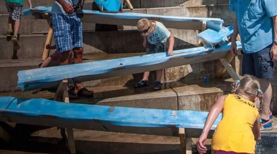 waterbaan op waterkantfestival